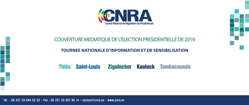 Le Conseil National de Régulation de l'Audiovisuel poursuit lundi 3 décembre par Ziguinchor, sa tournée nationale de partage avec les médias sur la couverture des élections, notamment la présidentielle du 24 février 2019